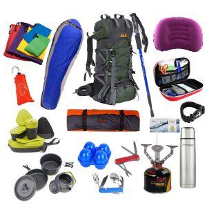 پکیج کمپینگ و کوهنوردی