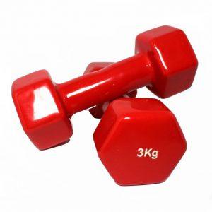 دمبل رکورد 3 کیلوگرم